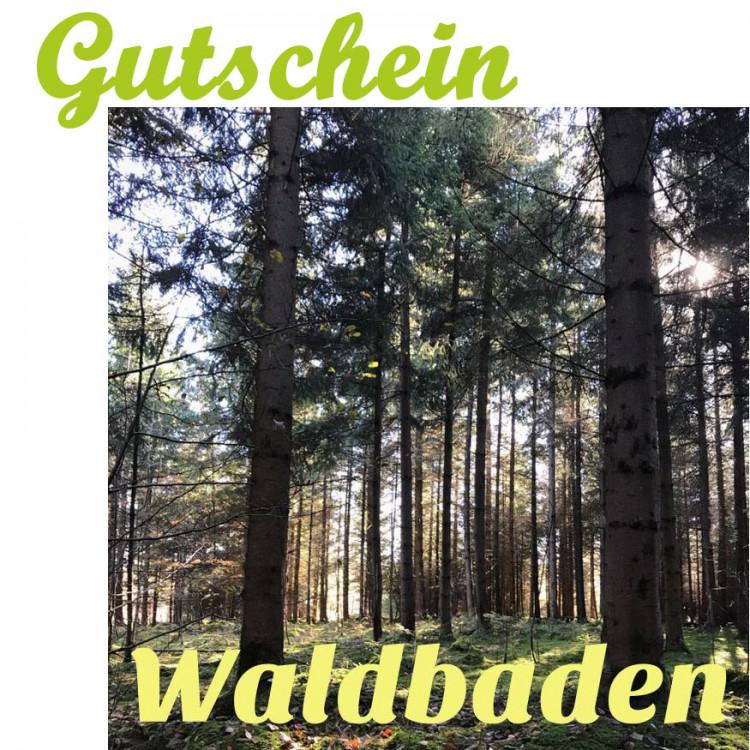 """Waldbaden """"Winter/Schnupper-Edition"""" (1 Person mit Tier ab 16 Jahre)"""