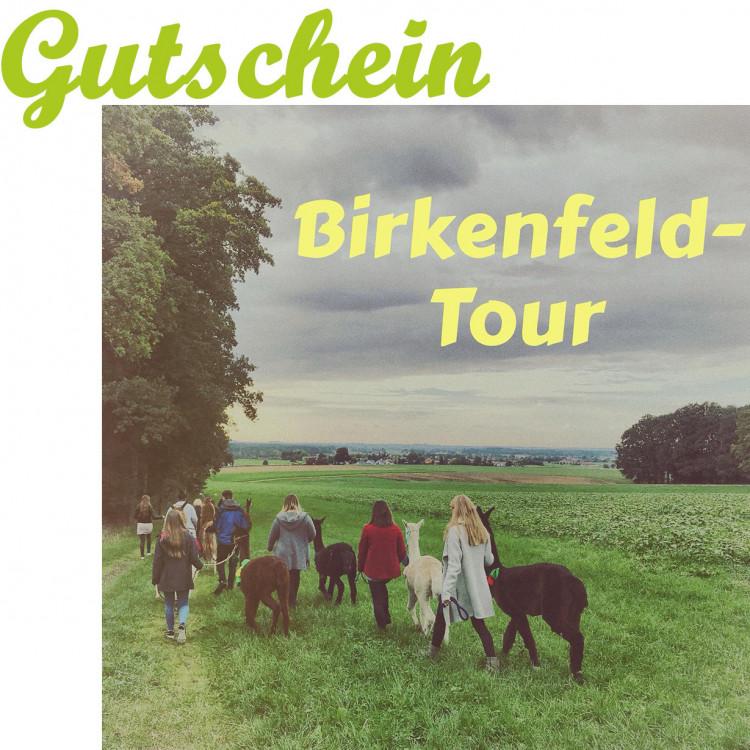 Birkenfeld-Tour (1 Person mit Tier ab 12 Jahre)