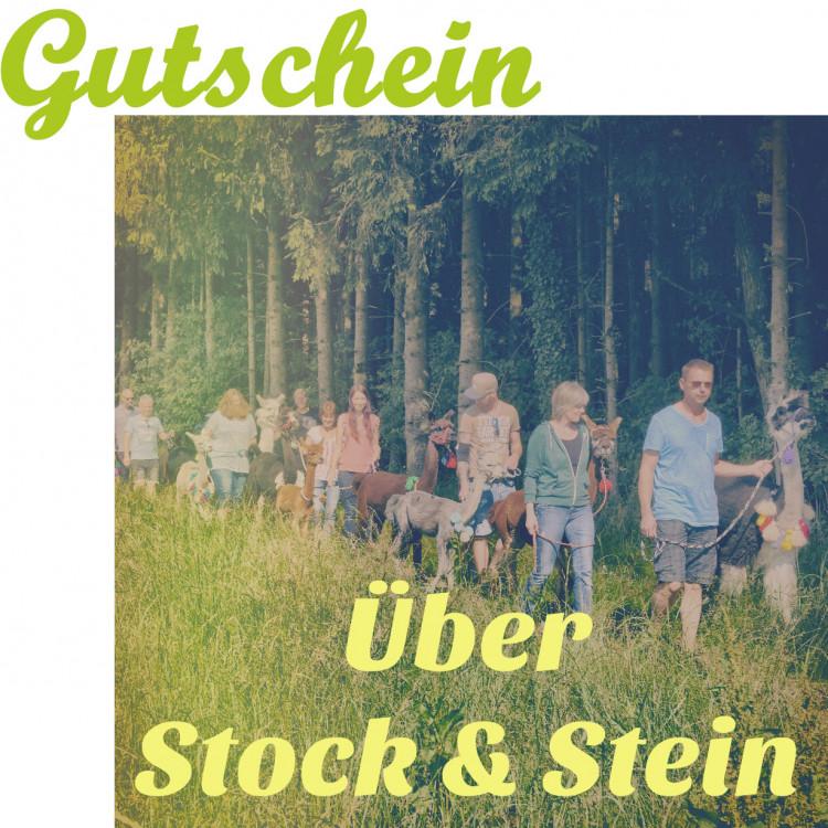 Ãœber Stock und Stein (1 Person mit Tier ab 12 Jahre)