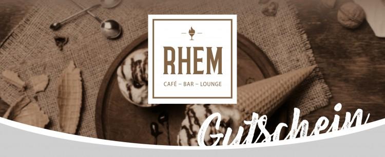 Genießen im Café RHEM für 20€