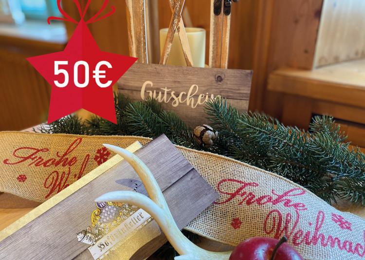 Schmankerl-Gutschein 50 €