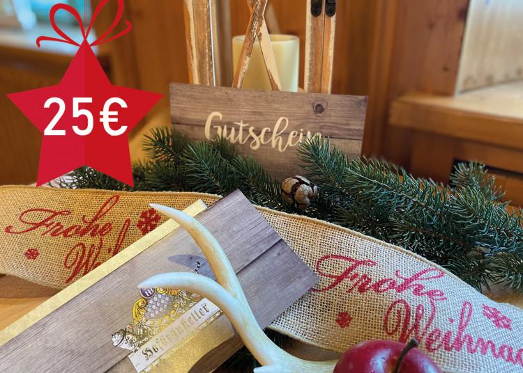 Schmankerl-Gutschein 25 €