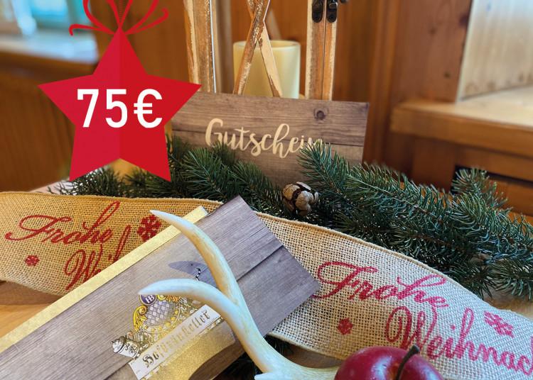 Schmankerl-Gutschein 75 €