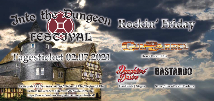 Into the Dungeon Festival 2021 - Rockin' Friday