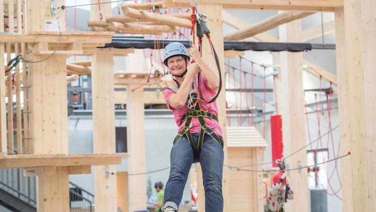 Erlebnisgutschein zum Klettern für einen Erwachsenen
