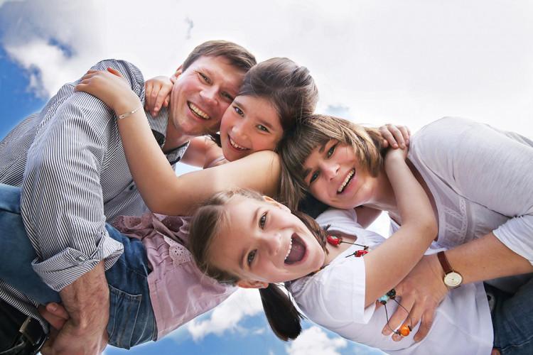 Outdoor Familien-Shooting