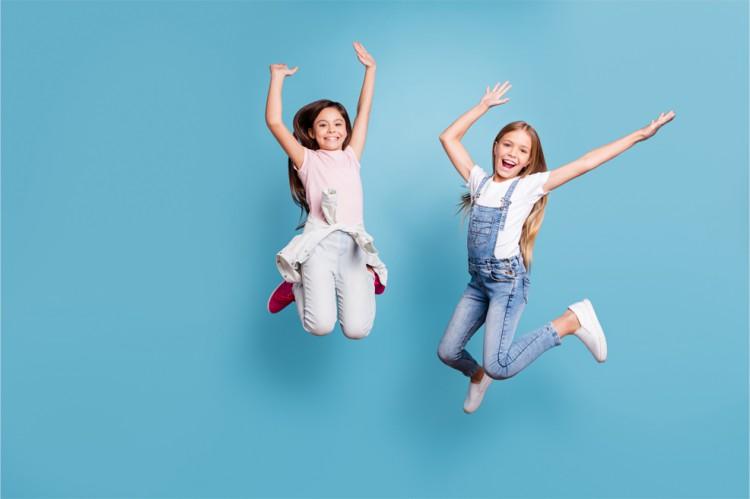 Zehnerkarte: Kids Jumping® – Kinder (bis 12 Jahre)