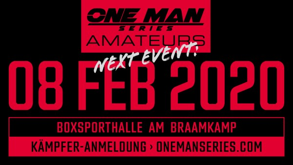 One Man Series Amateurs - Hamburg vs. Amsterdam