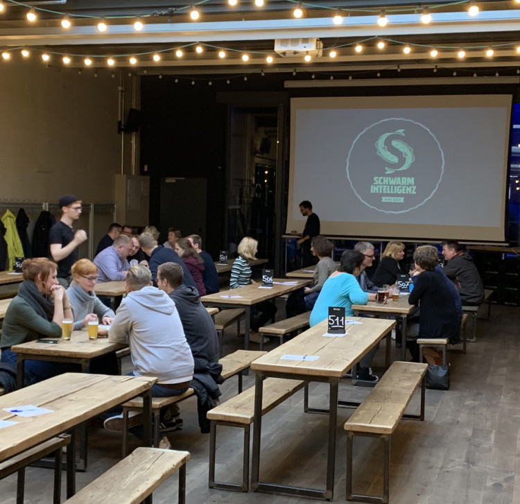 Quiz in der Union Brauerei