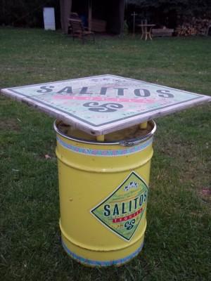 Salitos-Stehtonnen