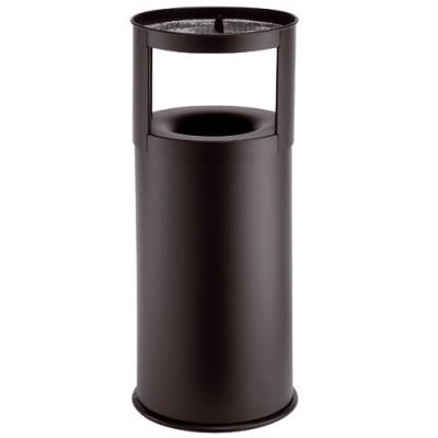 Standascher mit Abfallbehälter schwarz