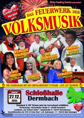Feuerwerk der Volksmusik Dermbach