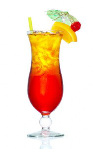 Hurricangläser (Tropical Cocktails)