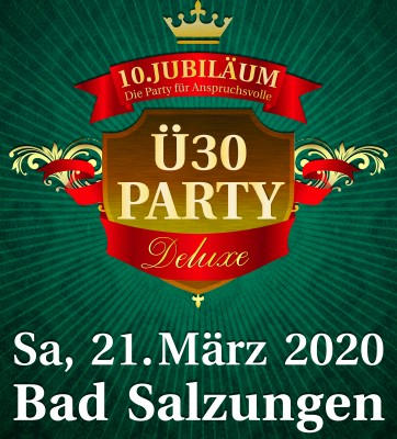 Ü30 Party Deluxe Bad Salzungen 2020