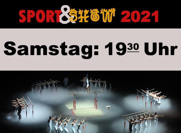 3. Sport und Show Samstag 16.01.2021 19:30 Uhr