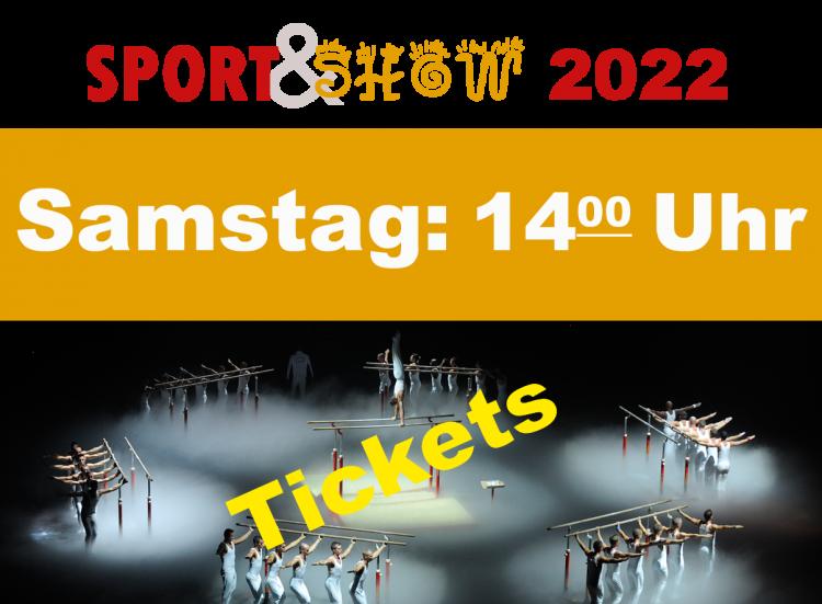 2. Sport und Show Samstag 15.01.2022 14:00 Uhr