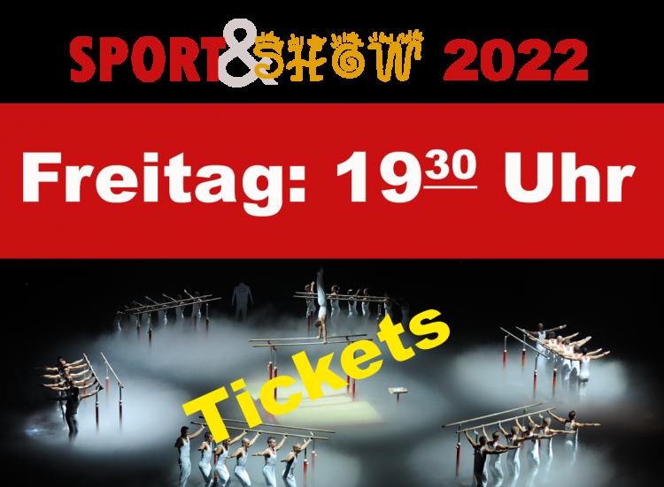 1. Sport und Show Freitag 14.01.2022 19:30 Uhr
