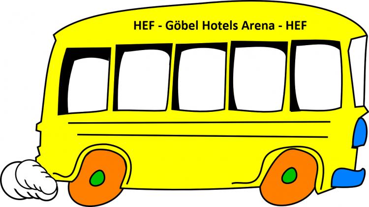 Bus-Shuttle 16.01.2021 14 Uhr HEF-GHA-HEF