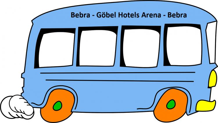 Bus-Shuttle 16.01.2021 19.30 Uhr Bebra-GHA-Bebra