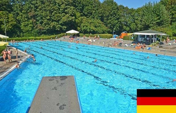Eintritt Freibad / Entrée Piscine – Kehl-Auenheim