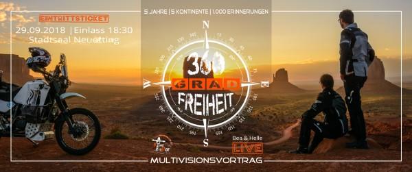 360 Grad Freiheit | Bea & Helle | TimetoRide - Stadtsaal Neuötting