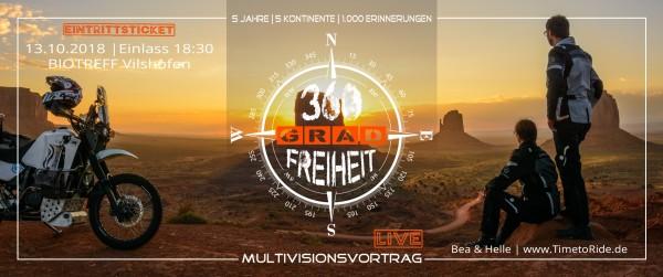 360 Grad Freiheit   Bea & Helle   TimetoRide - BIOTREFF Vilshofen