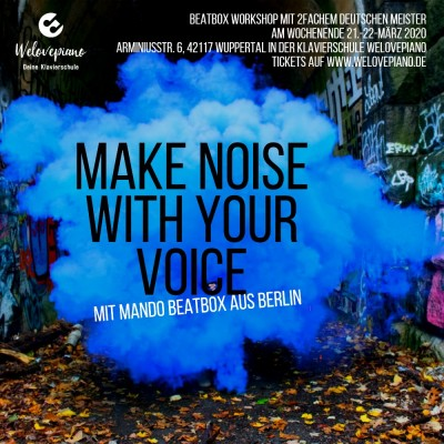 Workshop: make noise with your voice