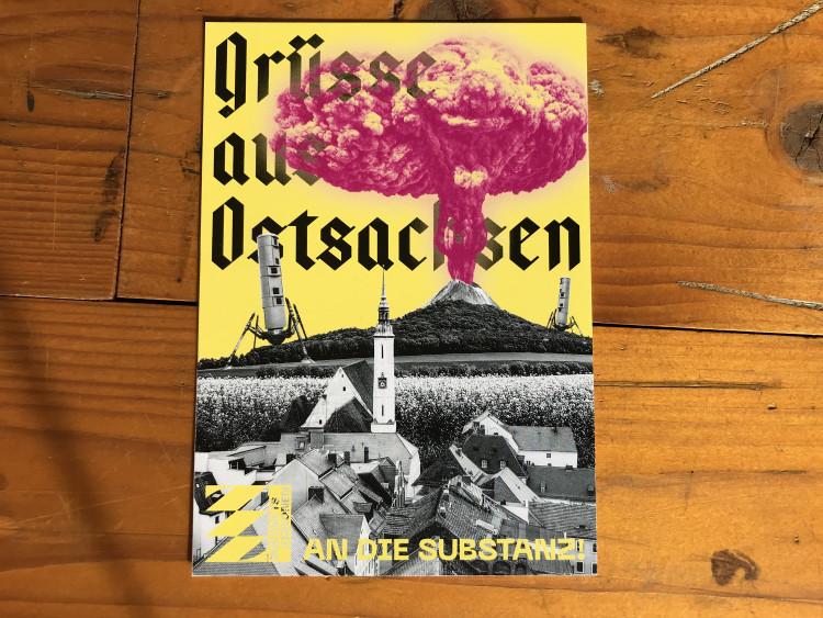 """Postkarte """"Grüße aus Ostsachsen"""""""
